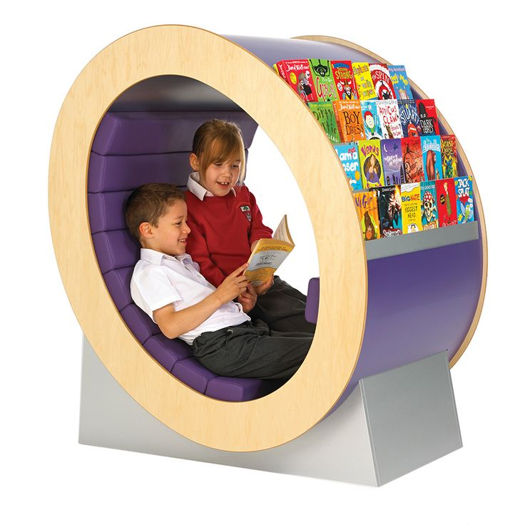 If your library needs a 'wow' factor, this is the unit to do it. Great book display and a fun design which brings a smile to every face. Children of all ages love to curl up inside with a book. It's practical too, strongly constructed with wipe-clean vinyl cushions. The Hideaway is a classic which will appeal to one generation of children after another. It is especially successful with boys; put the right books on it and you'll find that boys much prefer choosing from the Hideaway than t...