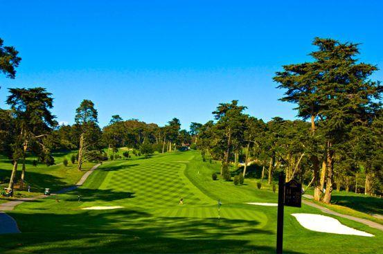 Presidio Golf Course, at the Presidio in San Francisco.