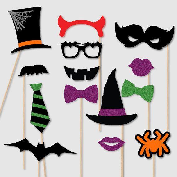 Halloween Party Photobooth Requisiten Kostüm Thema von techstudent