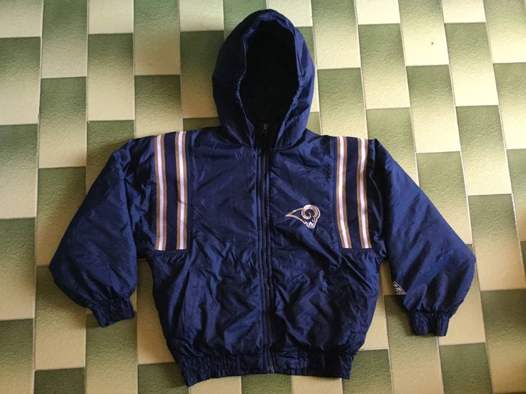 Excited to share the latest addition to my #etsy shop: NFL Los Angeles Rams hoodie jacket kid size 8