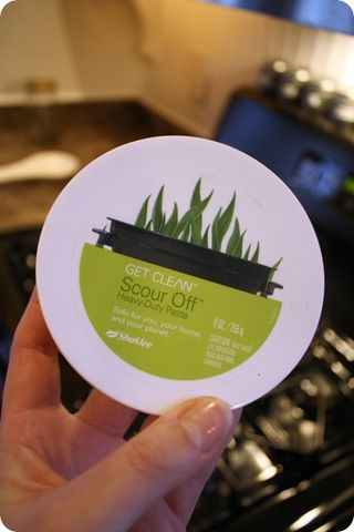 Shaklee Scour Off (must try for oven!)