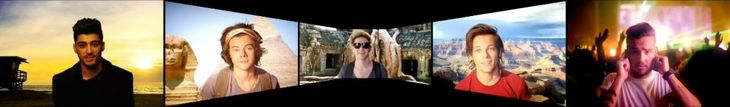One Direction - Where We Are Tour Opening / Intro Video (HD) FULL