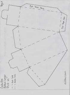 Tutorial: Bomboniere Laurea fai da te Torta classica a 3 piani (3)