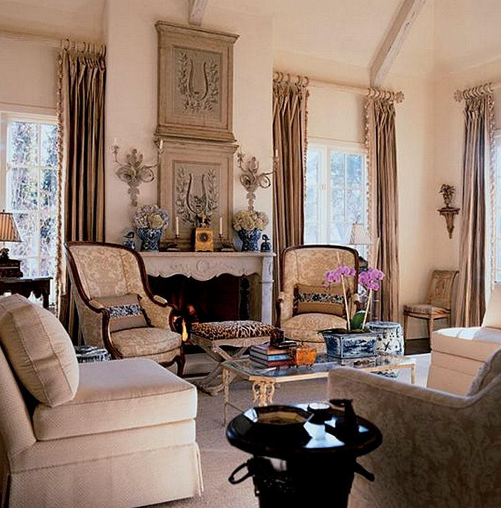 Country French Living Room Pictures