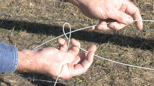 FarmOn.com | How to Splice High Tensile Fencing Wire