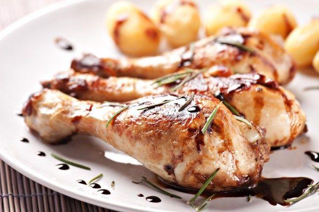 Ricetta delle cosce di pollo all'aceto balsamico - Ricetta di Chiara Maci