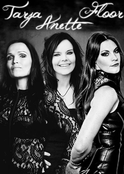 Tarja Turunen, Anette Olzon & Floor Jansen Nightwish