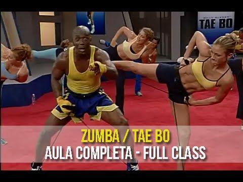Aula Completa de Zumba e Tae bo - Circuito Perder Peso Rápido - YouTube