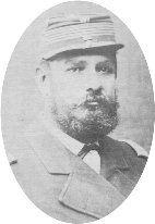 Teniente Coronel Manuel 2° Novoa, segundo comandante del Batallón de Artillería de Línea