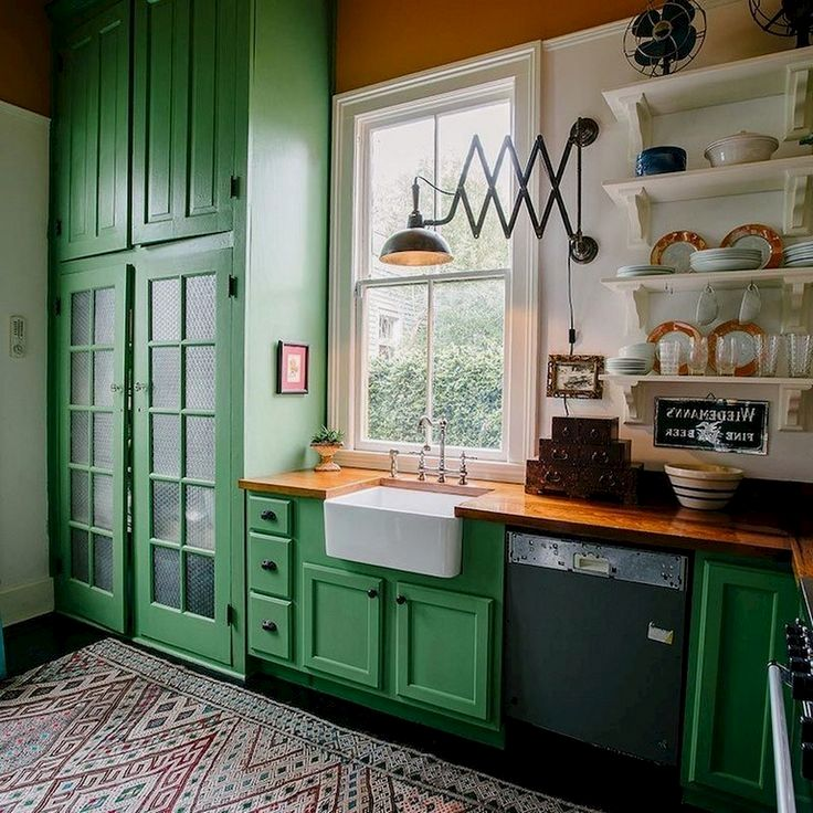Pin By Beth Jackman On Green In 2021 Budget Kitchen Remodel Kitchen Cabinets Decor New Kitchen Cabinets