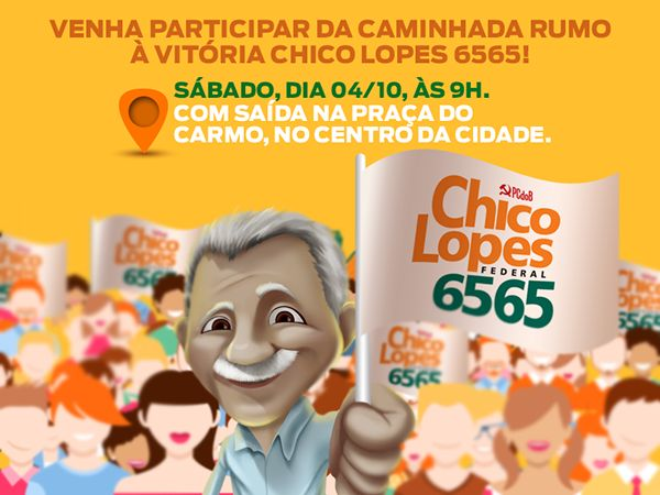 Campanha Eleitoral 2014 - Dep. Fed. Chico Lopes on Behance