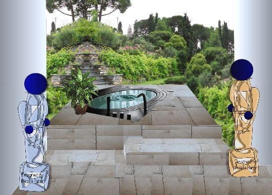 Giardino italiano  Collage virtuale di Mirella Pare
