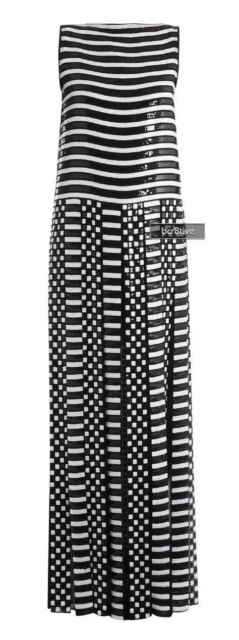 Marc Jacobs Split panel skirt full-length dress ♥✤