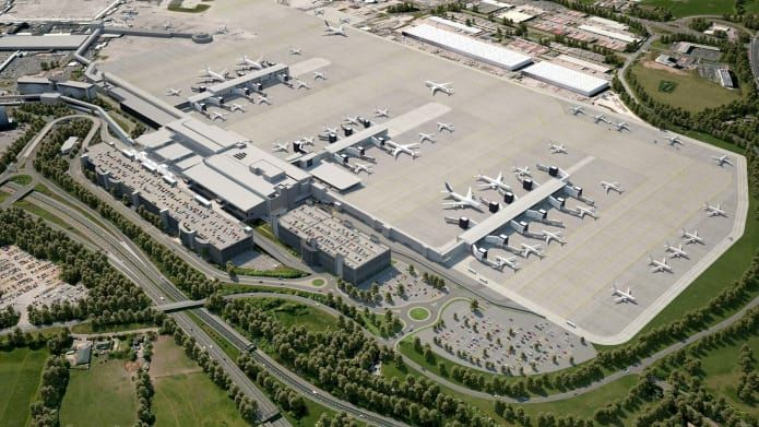 16 New Airports We Can T Wait To Fly Into Manchester Airport Istanbul New Airport Singapore Changi Airport