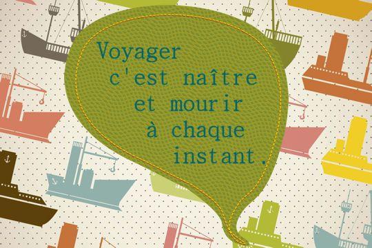 """C'est dans les Misérables que Victor Hugo écrit cette phrase désormais célèbre : """"Voyager c'est naître et mourir à chaque instant."""" © grgroup - Fotolia.com"""