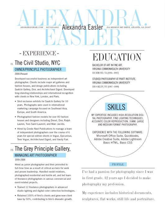 Mejores 7 imágenes de Resume design en Pinterest | Currículum ...