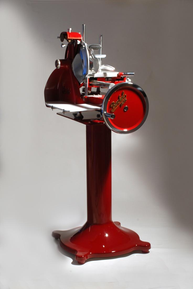 Original Berkel cutter.