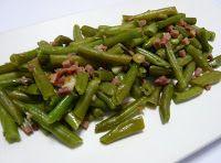 Recetas para tu Thermomix - desde Canarias: Judías verdes rehogadas con jamón