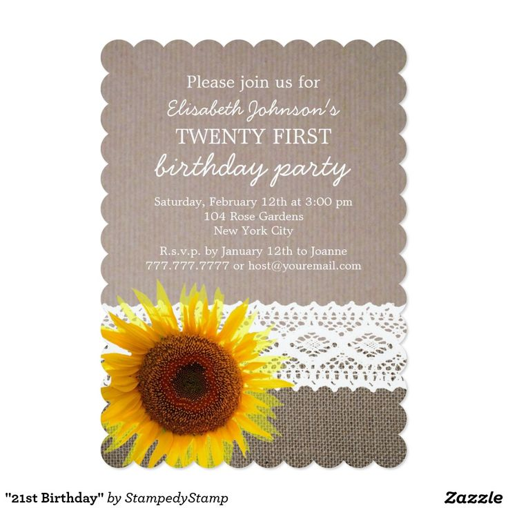 327 best BIRTHDAY INVITATIONS images on Pinterest | Birthday ...