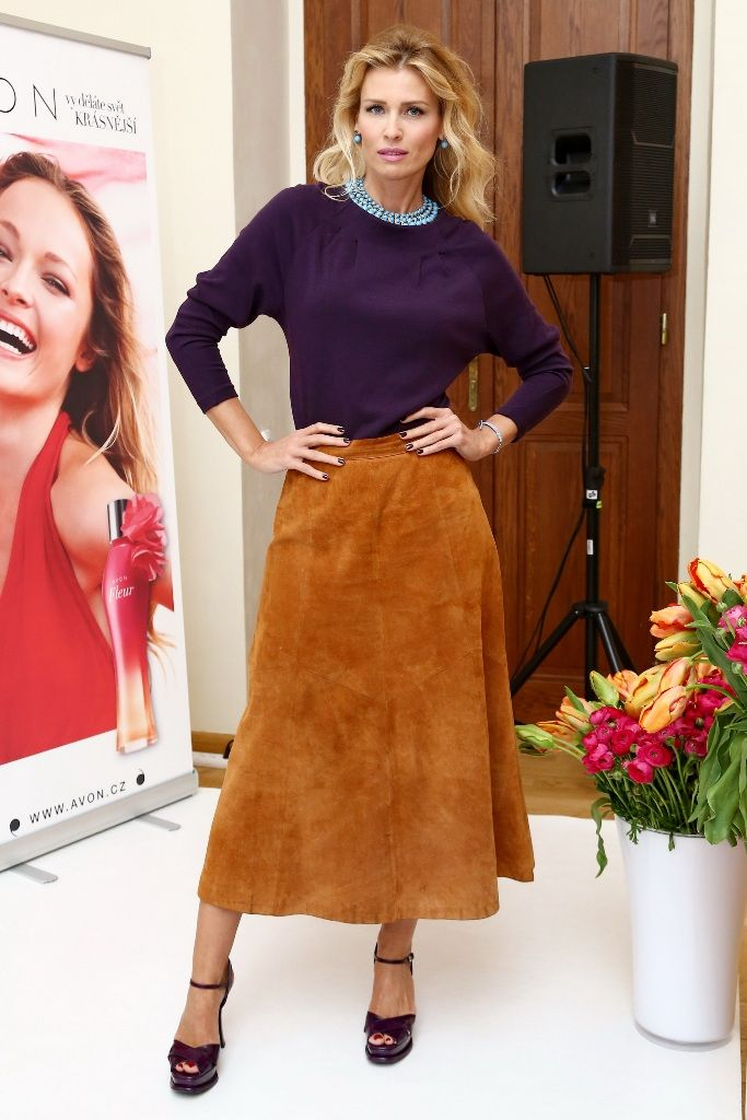 69 best HOW TO WEAR SUEDE SKIRT images on Pinterest