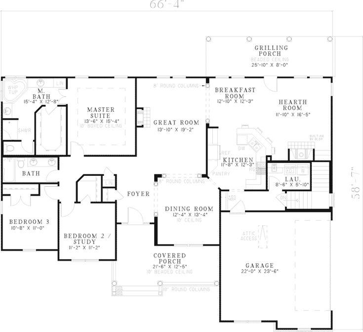 164 best House plans images on Pinterest Arquitetura, Future house - copy barn blueprint 3