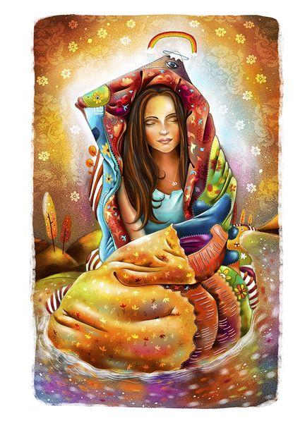 «God inside». Фил Дунский.  #helloposter #poster #posters #art #modernart #printart #illustrators #illustration