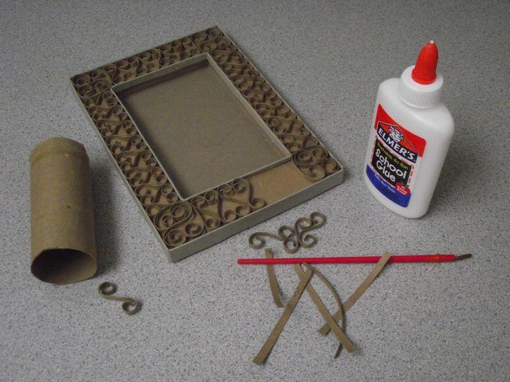 17 mejores ideas sobre portaretratos de carton en - Marcos de fotos para colgar ...