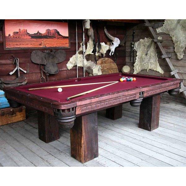 GroovyStuff  Chris Bruning Timber Lodge Billiard Pool Table