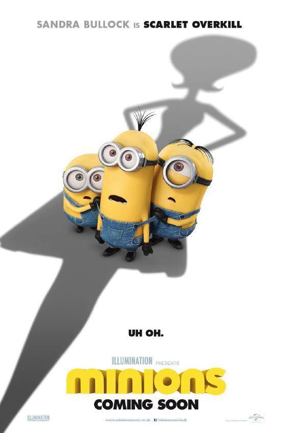 New Minions Trailer Introduces Sandra Bullock's Scarlet Overkill