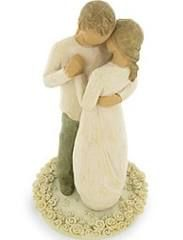 Promise Cake Topper (Willow Tree 2618-9)