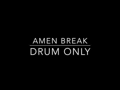 Amen Break - Drum only backing track