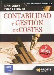 Contabilidad y gestión de costes / Oriol Amat y Pilar Soldevila