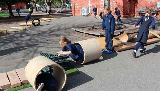 Play for life is creating better minds by bringing recyclable play to school grounds