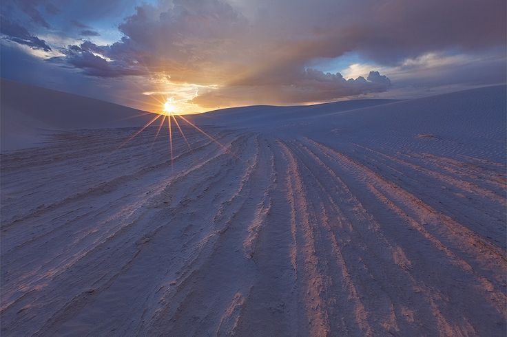 Photograph White Sands Sunset by Sarah Marino on 500px