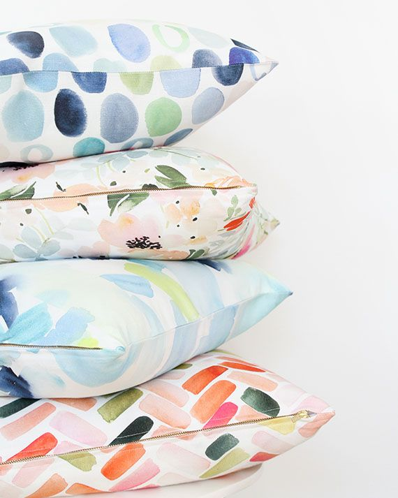 throw pillows- Yao Cheng