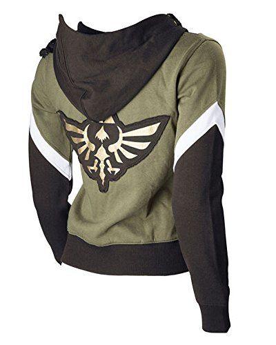The Legend of Zelda Hoodie Link Costume Hyrule Warriors Zipper Coat Jacket | #Apparel #external #Men #Shirts #Sports