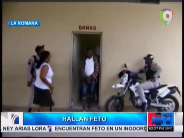 Encuentran Feto En Baño De Parada De Autobús En La Romana #Video
