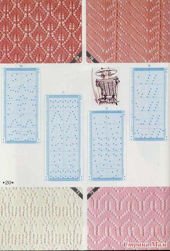 knitting pattern II TOYOTA Lace 1