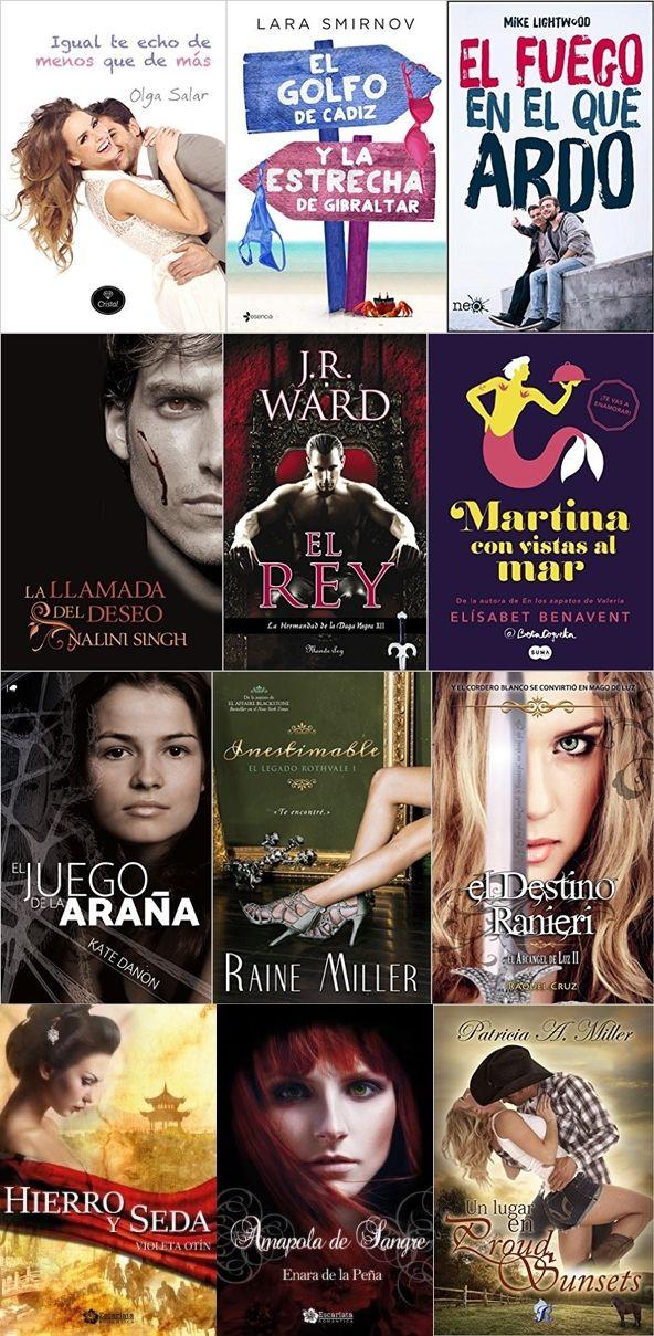 Pasión por la novela romántica: Novedades de enero en papel