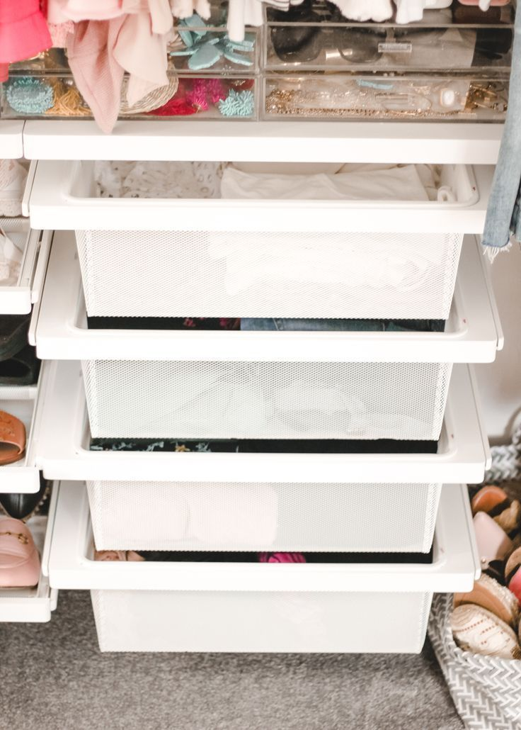 Optimizing Closet Space With The Container Store With Images