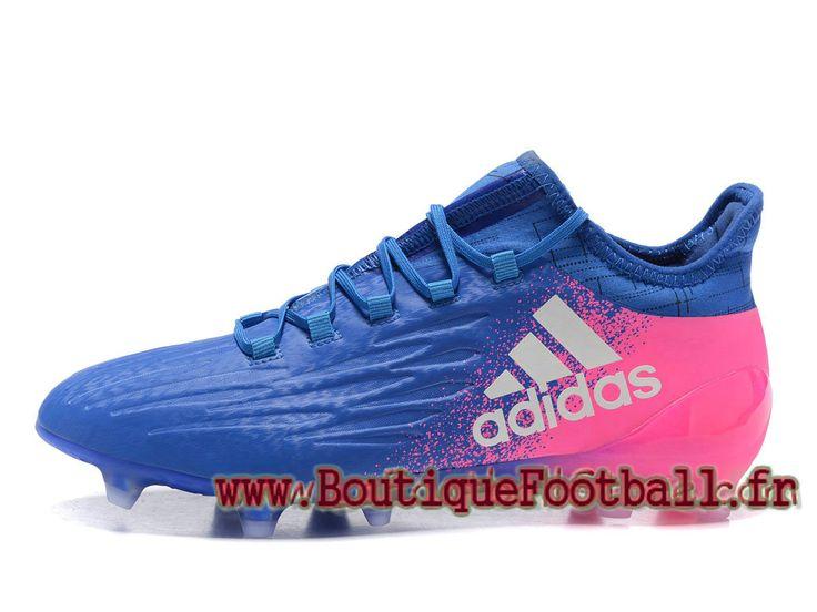 adidas homme football chaussues x 16.1 terrain souple pourpre rose officiel adidas x