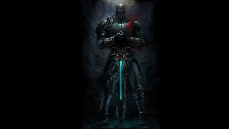 god of war, kratos, меч олимпа, бог войны, кратоc, цепи, тату, tatoo, black