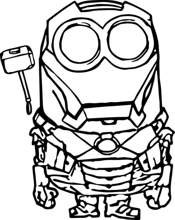Iron Man Minion Coloring Pages Minions Coloring Pages Pokemon Coloring Pages Minion Coloring Pages