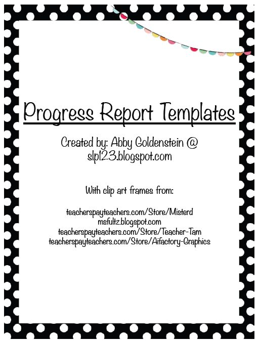 business progress report sample - Leonescapers