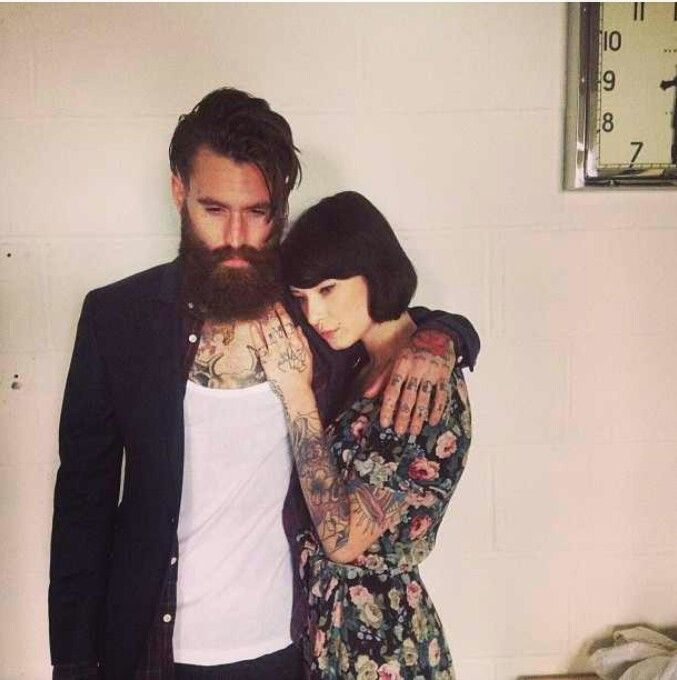 Ricki Hall and his girl