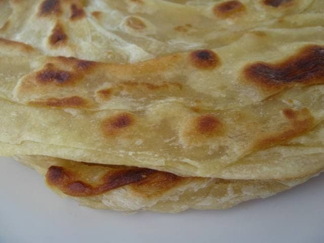 My Asian Kitchen: Roti Canai/Paratha Bread