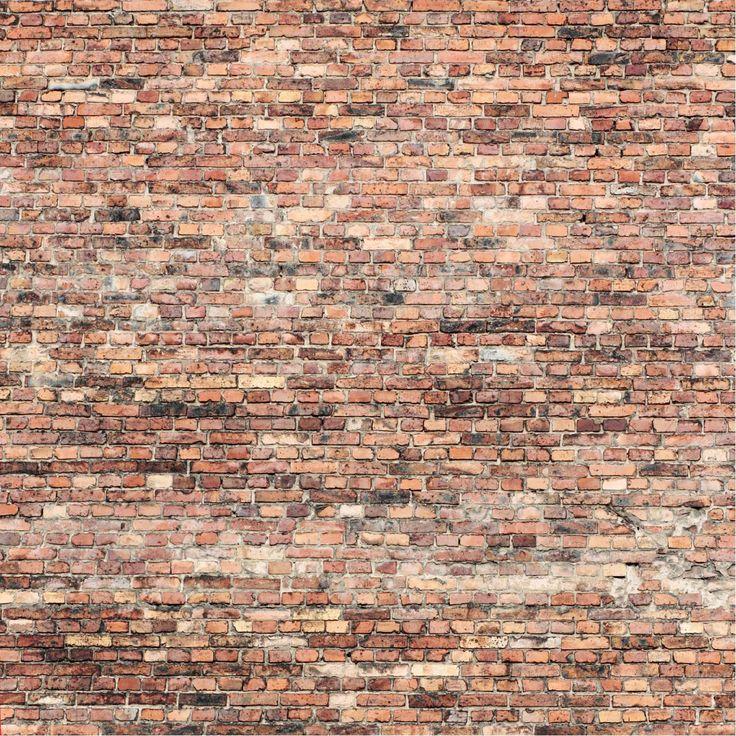 Papel mural ladrillos claros
