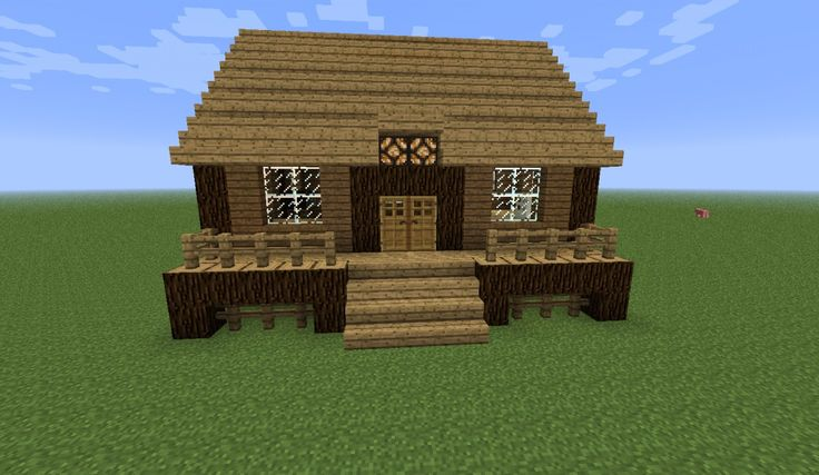 Log Cabin Minecraft Project  With Images