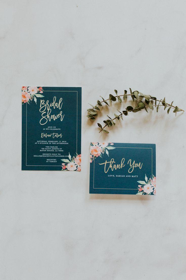 bridal shower invitations registry etiquette%0A Standing Ovation Bridal Shower Invitations