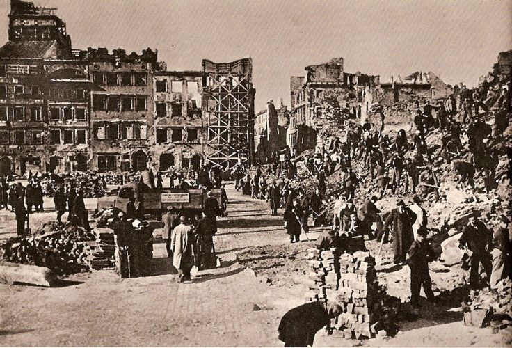 Rebuilding, 1950 - Huge Collection Of The Warsaw Uprising Photos 18  Page 3 of 3  Best of Web Shrine